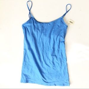 Aerie NWT Blue girly tank top camisole